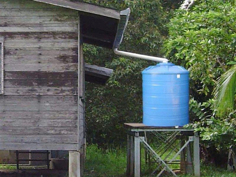 Households harvesting rainwater to get 10% discount in water bill