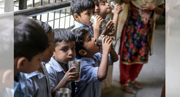 Telangana achieves 100% tap water supply to schools, anganwadis