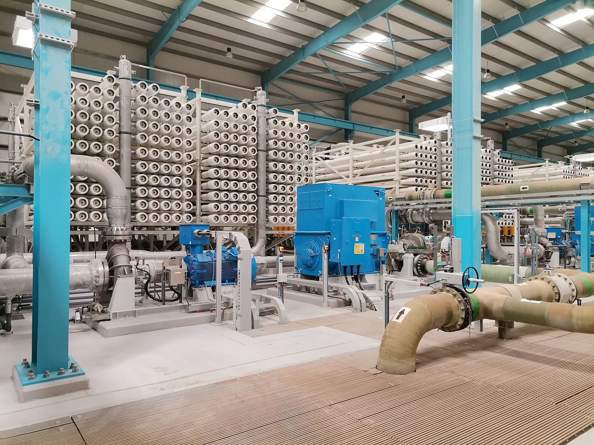 Abengoa Agua completes construction of the desal plant in Oman
