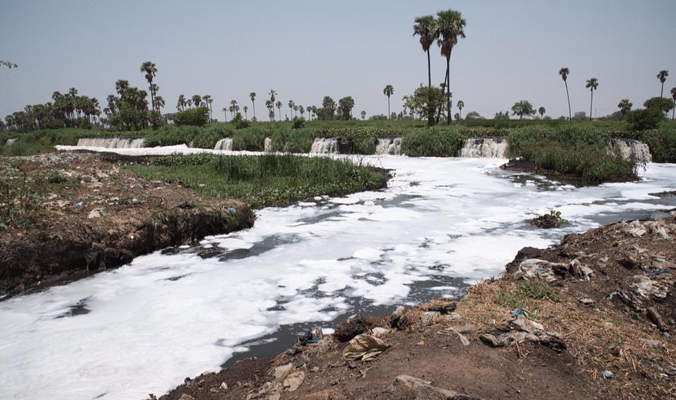 Antibiotic pollution in Sirsa river flowing through Baddi pharma hub