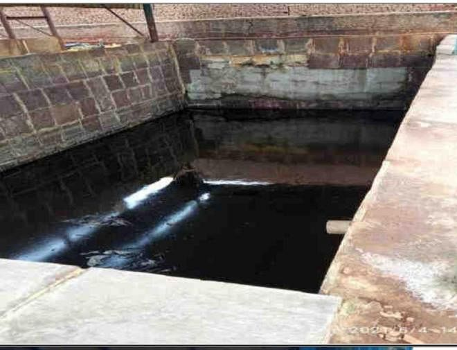 The effluent generated by a unit in Ludhiana