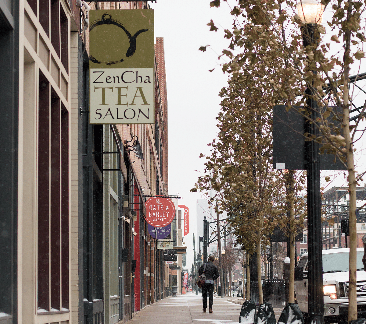 "The Short North has seen its far share of investment and disinvestment. The art district got its name from local police for being ""just short"" of downtown both geographically and economically, but today its streets are lined with mostly local shops and fresh concrete sidewalks."