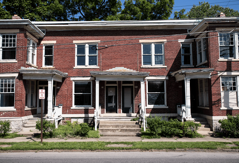 Woodland Park is a primarily residential neighborhood and was one of Columbus' first planned neighborhoods. Apartments like the ones pictured above were built more than a century ago.