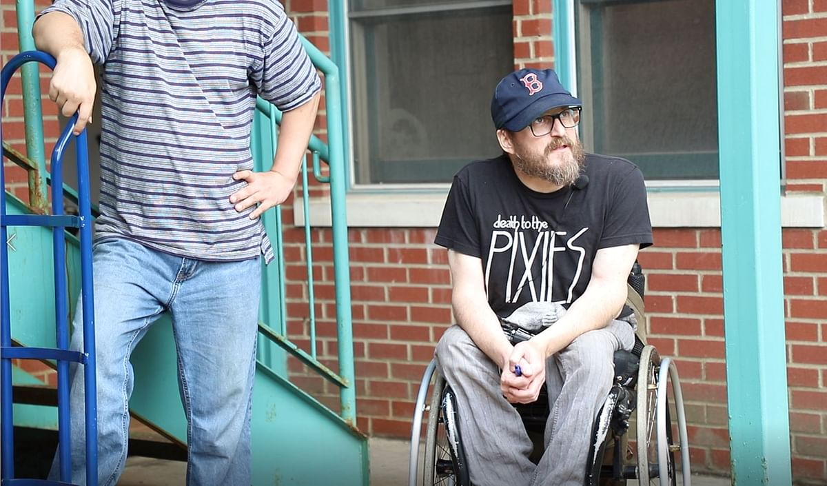 Shep Terhune was forced to move out of his Short North apartment of more than 20 years because a developer bought the building, and he could not find affordable and accessible housing in the neighborhood.