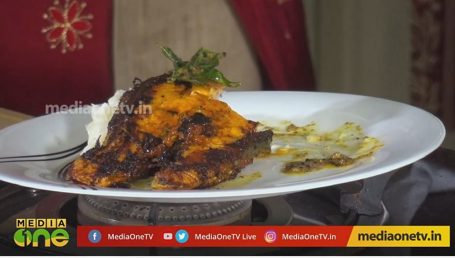 How to make grilled salmon | Raj Kalesh with Blessi and chef Anoop