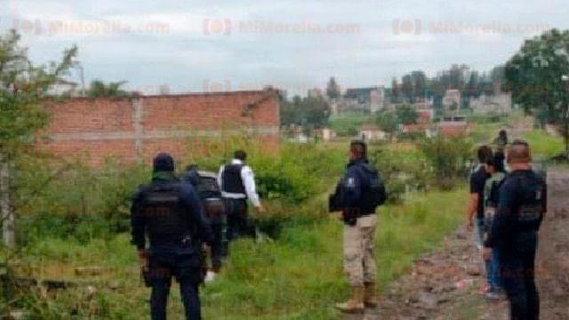Matan a balazos a un hombre en una colonia de Morelia