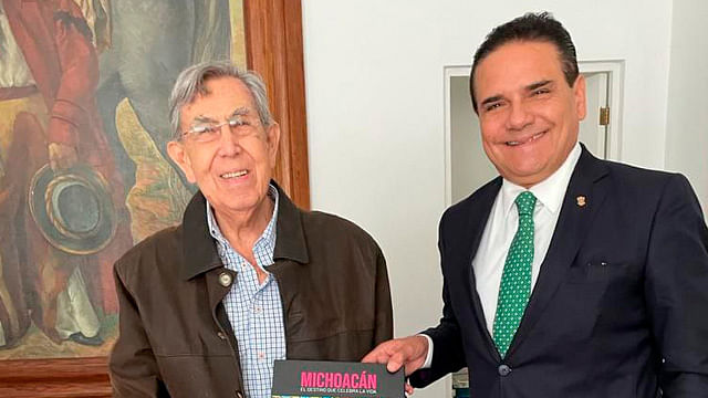 Silvano agradece consejos de Cuauhtémoc Cárdenas