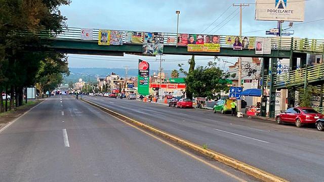 Este martes bloquearon en salida a Pátzcuaro de esta capital
