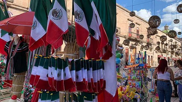 Sólo 20 por ciento de derrama económica en festejos patrios en Morelia, prevé Covechi
