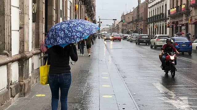Lluvias por la tarde de este jueves en Morelia, pronostican