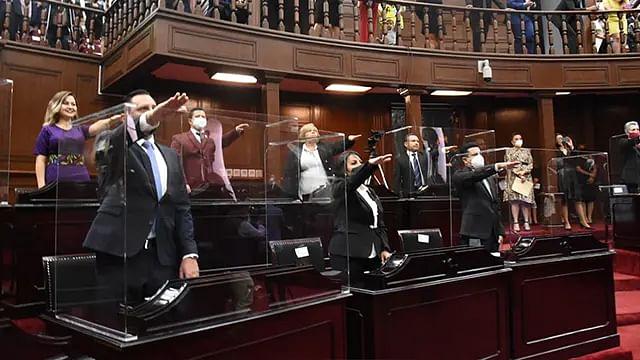 Queda formalmente instalada la LXXV Legislatura del Congreso de Michoacán