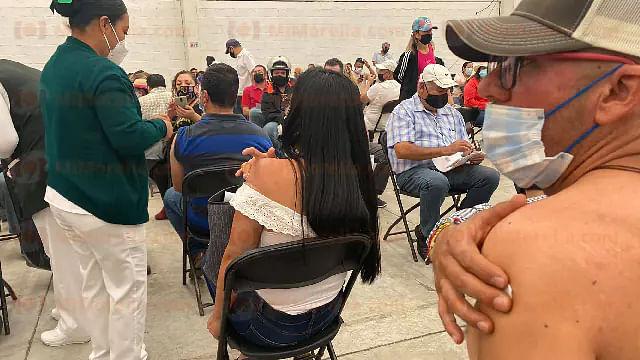 Contagiados de Covid-19, más de 3 mil michoacanos vacunados