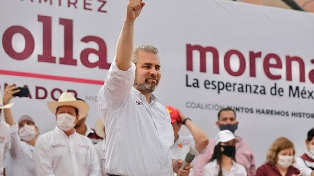 Triunfo del pueblo es legítimo; juntos transformaremos Michoacán: Bedolla