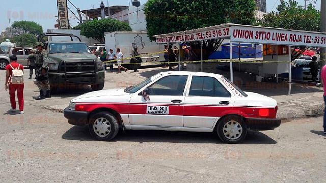 Michoacán: Matan a taxista que previamente colaboró con la Policía