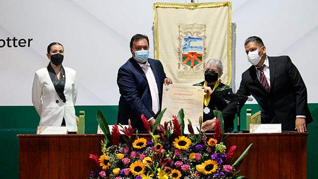 "Entregan Presea ""Vasco de Quiroga"" al Dr. Jerzy Rzedowski Rotter"