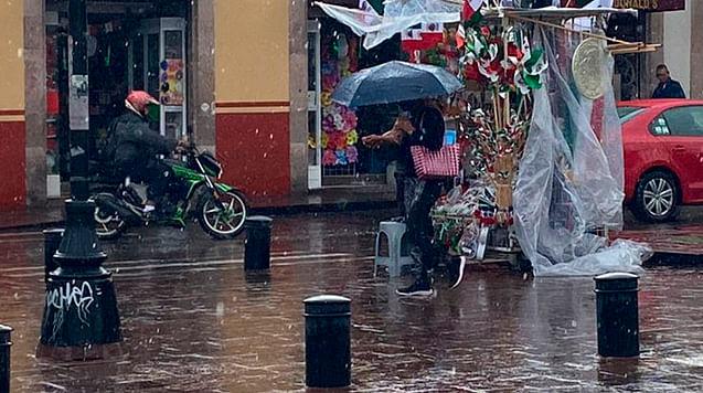 Prevén lluvia y granizo en Michoacán por onda tropical 31