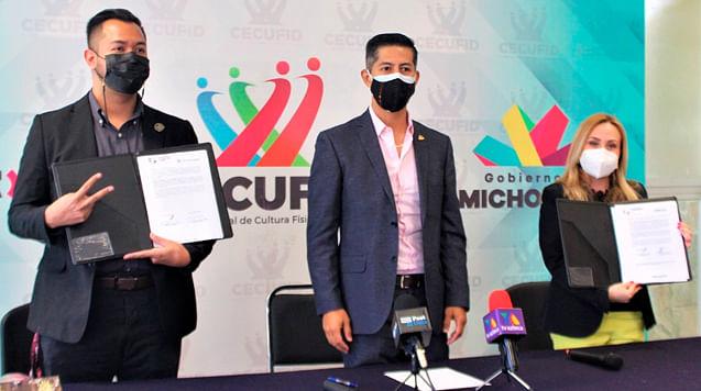Cecufid y universidades firman convenio para que atletas sigan sus estudios