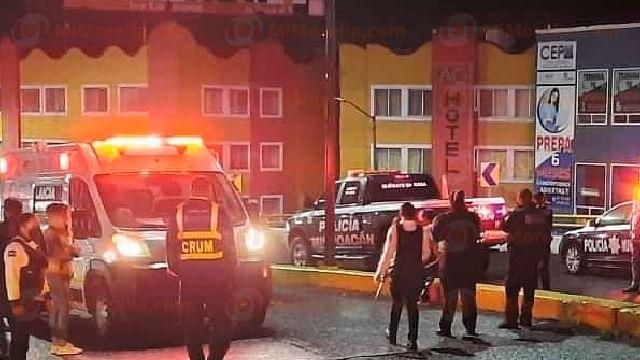 Muere motociclista al derrapar en su unidad, en Morelia