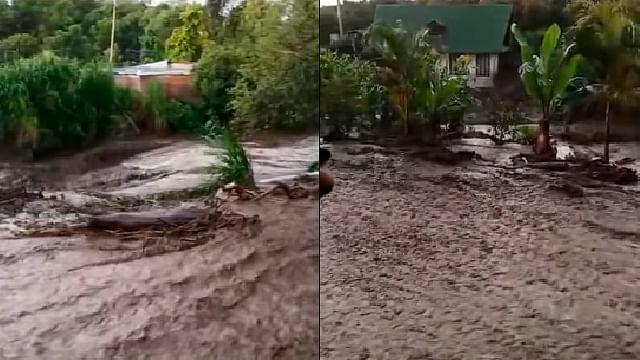 Peribán con inundaciones por lluvias en las últimas horas: PC Estatal