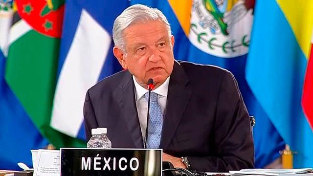 AMLO llama a EU a terminar bloqueos, durante la cumbre de la CELAC