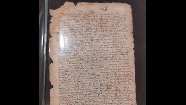 México recupera histórica carta de Hernán Cortés; había sido vendida