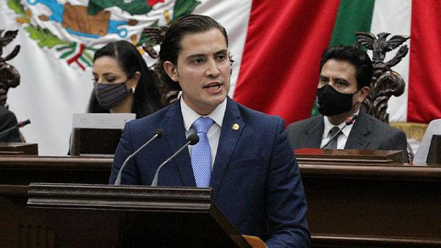 Acción Nacional defenderá a michoacanos desde el Congreso: David Cortés