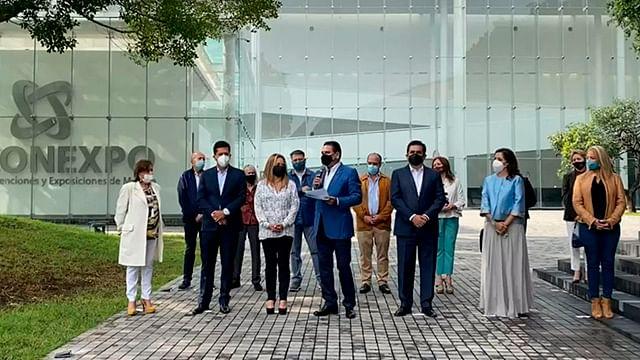 Inaugura Silvano remodelación del Centro de Convenciones en Morelia