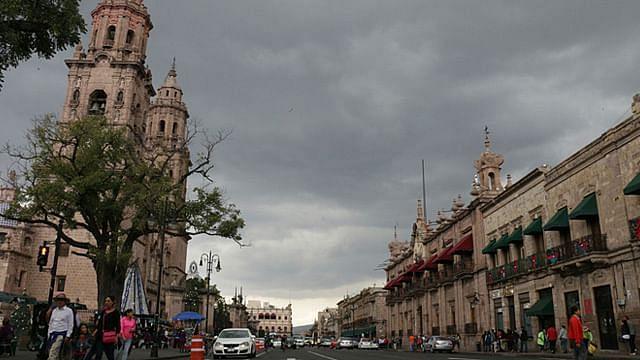 Cielos cubiertos para este jueves en la capital michoacana