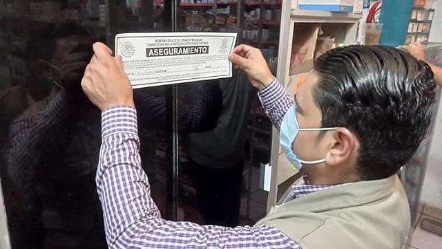 Múgica: Suspenden 4 establecimientos por no respetar medidas anti Covid-19
