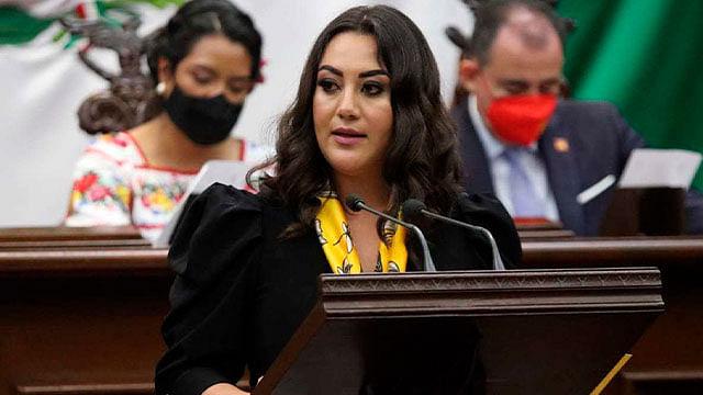 GPPRD exhorta a que Michoacán no se convierta en narco estado: Mónica Valdez