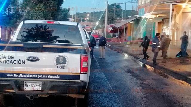 Asesinan a balazos a otra mujer en Michoacán; la víctima atendía una cafetería