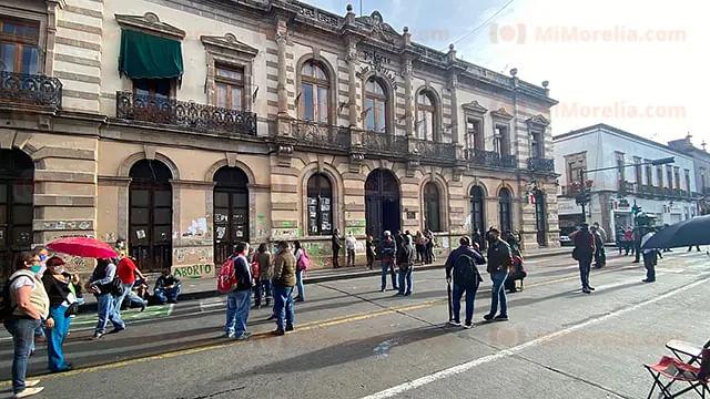 Libre, Congreso de Michoacán para instalación de 75 legislatura