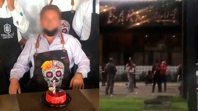 Así festejaba su cumpleaños sin saber que un regalo era un explosivo