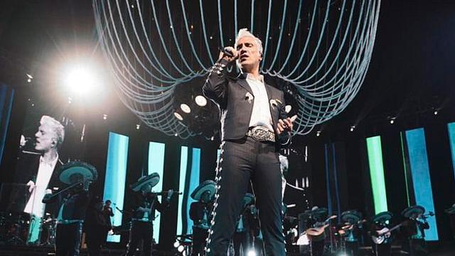Lista, la nueva fecha para el concierto de Alejandro Fernández en Morelia