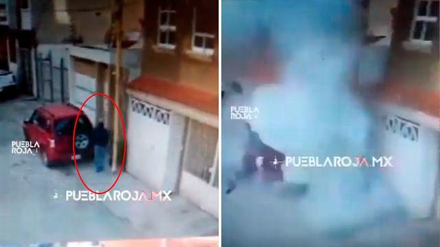 Otro paquete bomba estalla, ahora en Puebla
