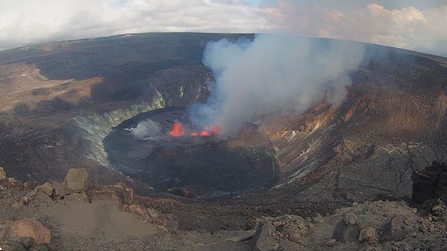 Volcán Kilauea entra en erupción