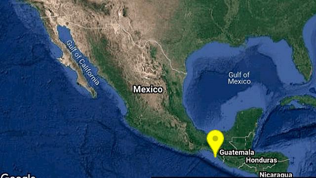 Se registra sismo de magnitud 5.1 en Chiapas