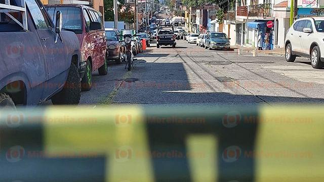 Identifican a hombre asesinado en Morelia; su hija de 6 años, hospitalizada