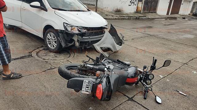 Dos accidentes de motos se registran al día en Morelia, en promedio