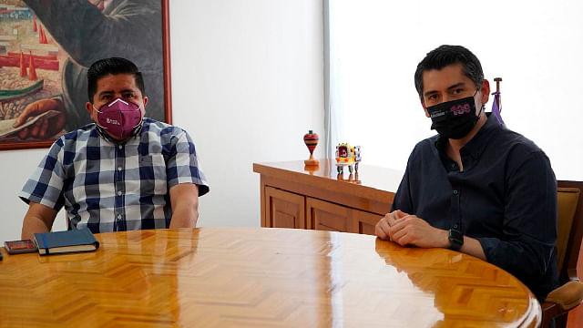 Trazan Toño Ixtláhuac y Bienestar Michoacán, trabajo conjunto