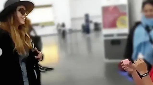Danna Paola recibe anillo de compromiso