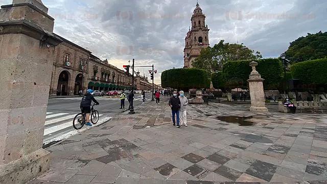 Continuarán las lluvias fuertes este martes en Morelia
