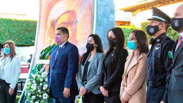 Conmemoran 256 años del Natalicio de José María Morelos en Uruapan