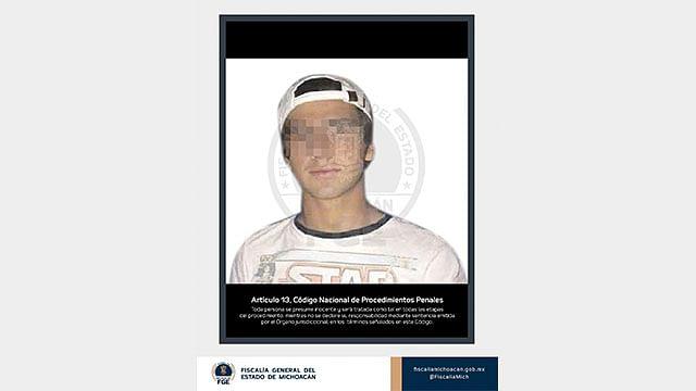 """La FGE trabaja para obtener una sentencia condenatoria de 50 años de prisión contra Diego Urik """"N"""""""