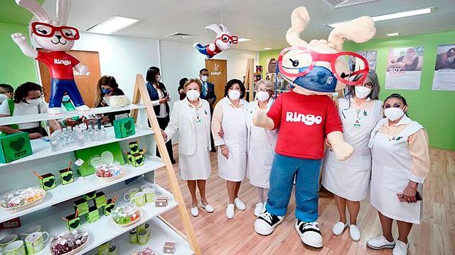 """Inauguran """"El Bazar de Ringo"""" del Voluntariado IMSS"""