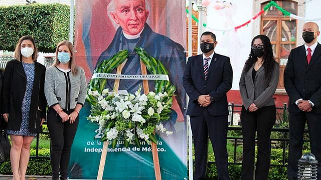 Conmemoran en Uruapan los 200 años de la consumación de la independencia
