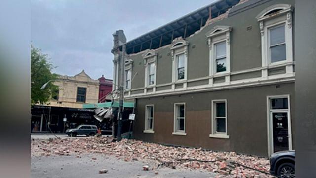Sismo de magnitud 5.8 en Australia provoca daños en estructuras
