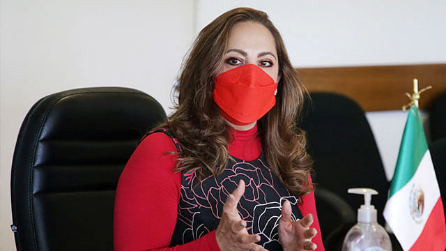 Norma Gabriela López Castañeda, directora de Incorporación y Recaudación del IMSS