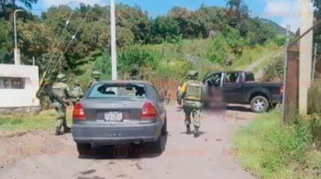 Balacera en Uruapan deja un muerto