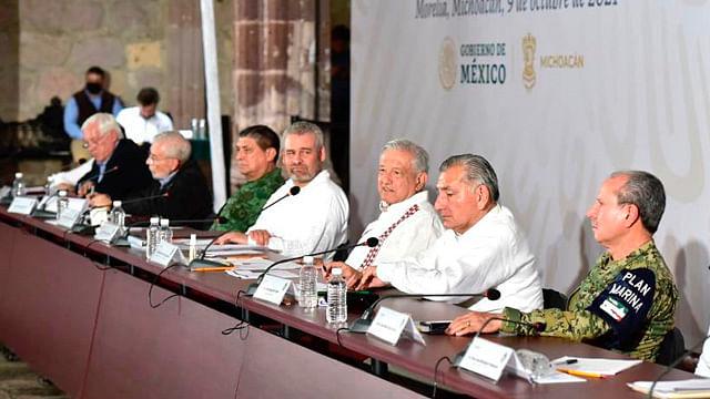 Vamos a tener más acciones en beneficio de Michoacán: AMLO